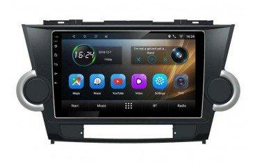 Radio GPS head unit Toyota Highlander screen 10 Android TR3277
