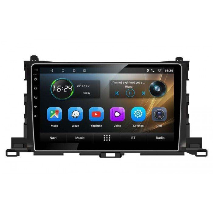GPS Toyota Highlander head unit