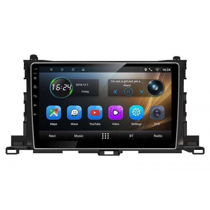 GPS Toyota Highlander head unit