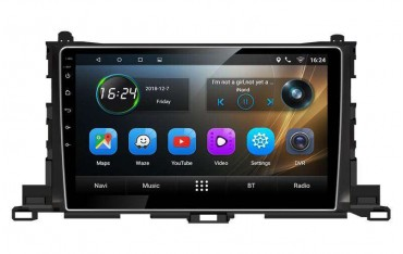 Radio GPS head unit Toyota  Highlander screen 10,2 Android TR3278