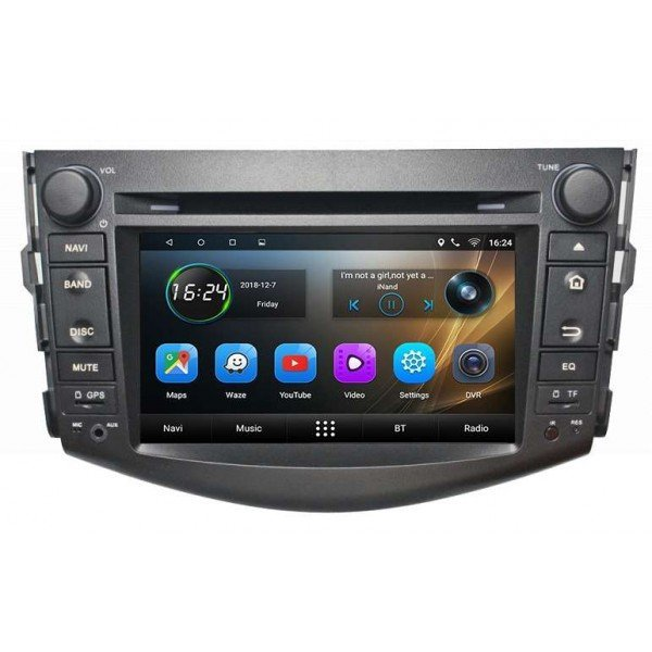 GPS Toyota RAV4 head unit