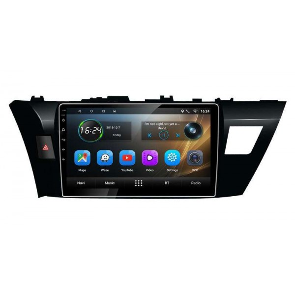 GPS Toyota Corolla head unit