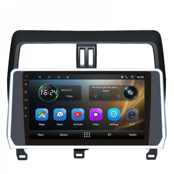 GPS Toyota Prado head unit