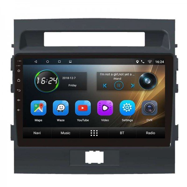 GPS Land Cruiser 200 head unit