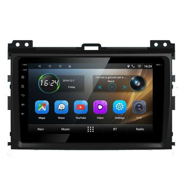 GPS Toyota Prado android head unit