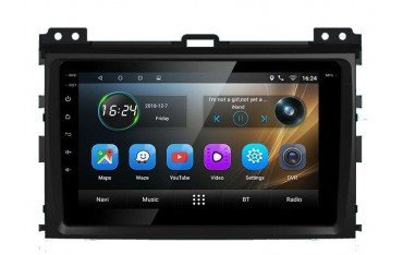 Radio GPS head unit Toyota Prado screen 8 Android TR3295
