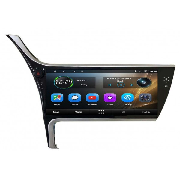 GPS Toyota Corolla screen 12