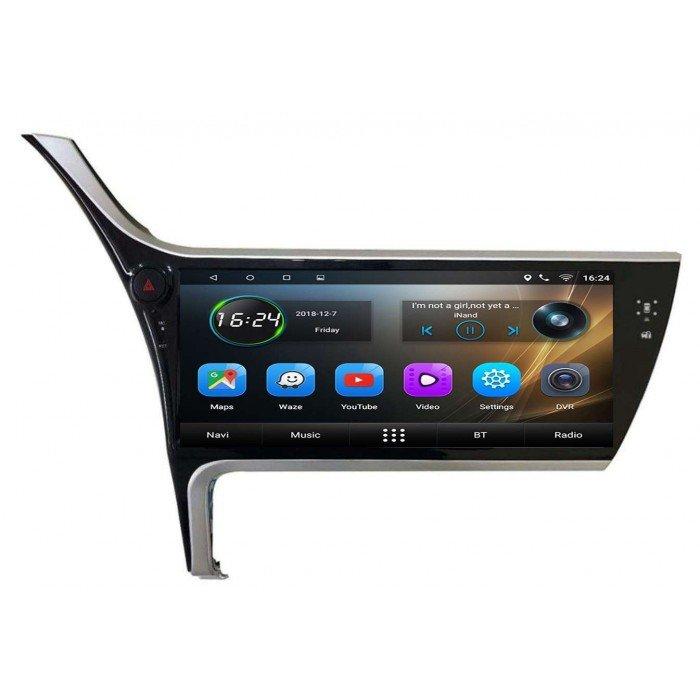 GPS Toyota Corolla pantalla 12