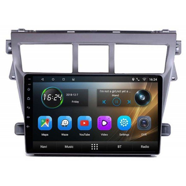 GPS Toyota Vios scree 9