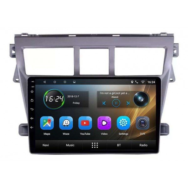 GPS Toyota Yaris screen 9 Android