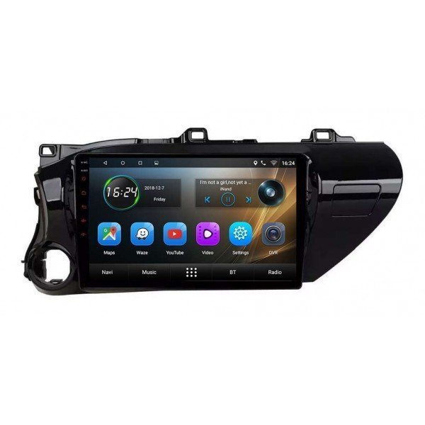 Radio GPS head unit Toyota Hilux screen 10,2 Android