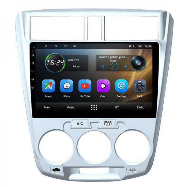 GPS Honda City head unit