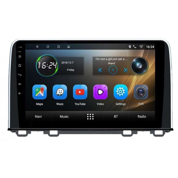 GPS Honda CRV pantalla 10