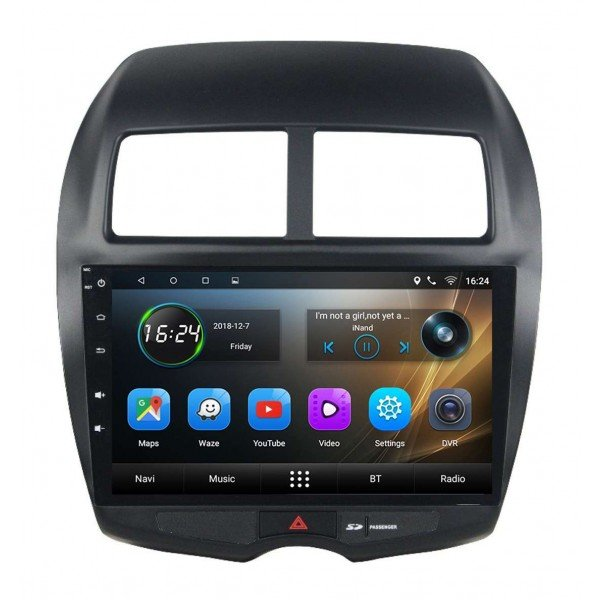 GPS Mitsubishi ASX head unit