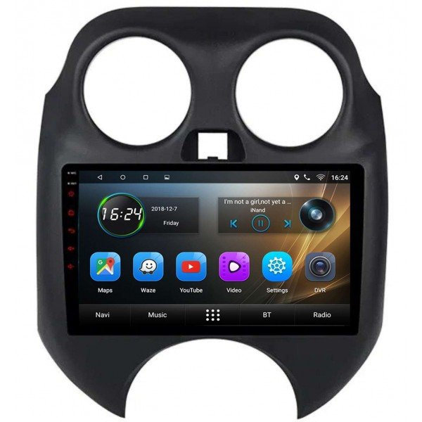 GPS Nissan Micra head unit