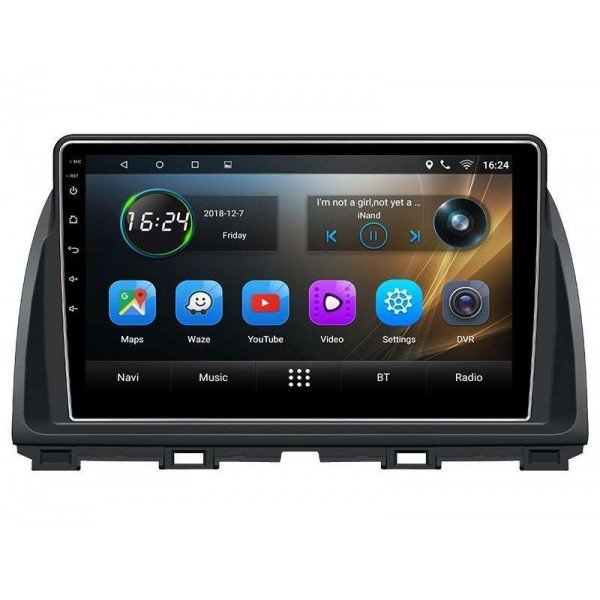 Radio navegador GPS Mazda CX-5 pantalla 10.2 Android TR3362