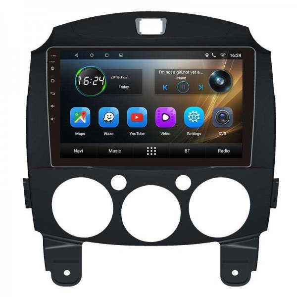 GPS Mazda 2 head unit