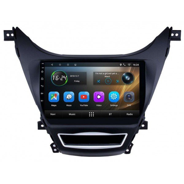 GPS Hyundai Elantra head unit
