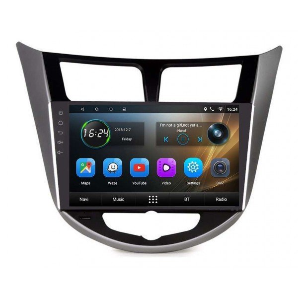GPS Hyundai I25 head unit