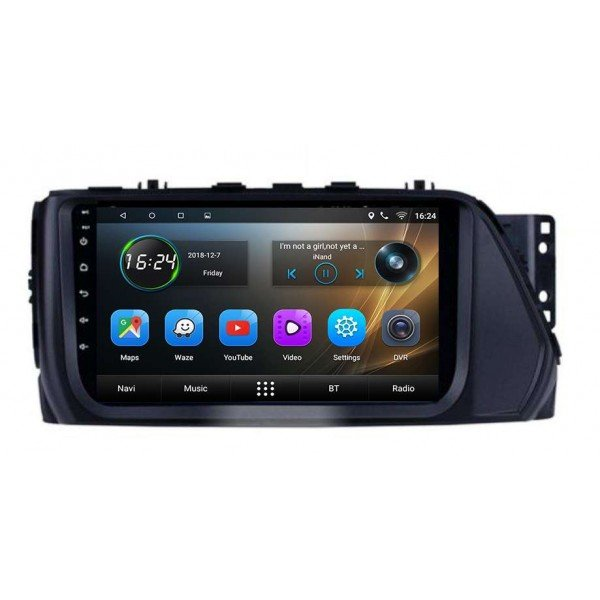 GPS Hyundai Verna head unit