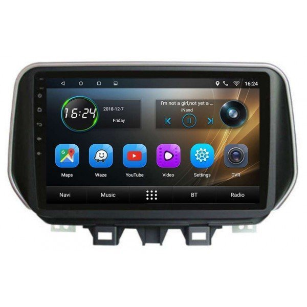 GPS Hyundai Tucson pantalla 9