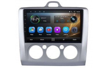 Radio GPS head unit Ford Focus AC Manual screen 9 Android TR3393