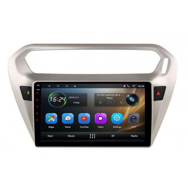 Radio navegador GPS Peugeot 301 / Citroen C Elysee Android TR3401
