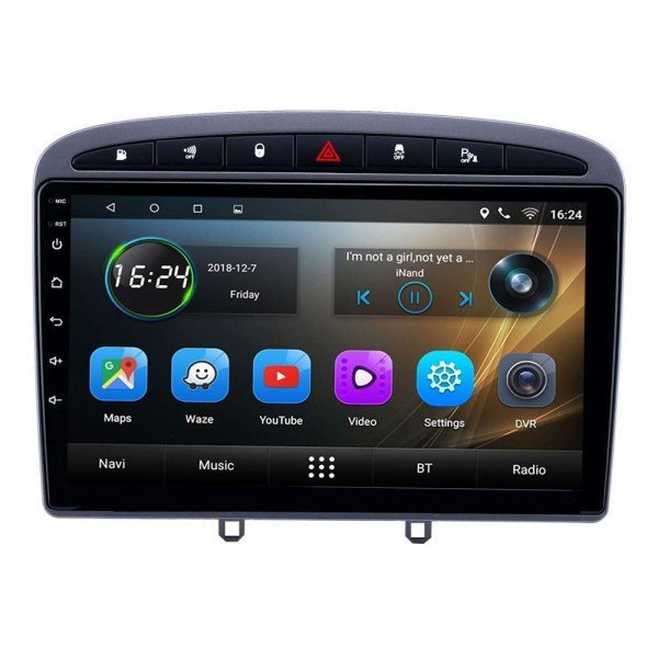 GPS Peugeot 408 head unit