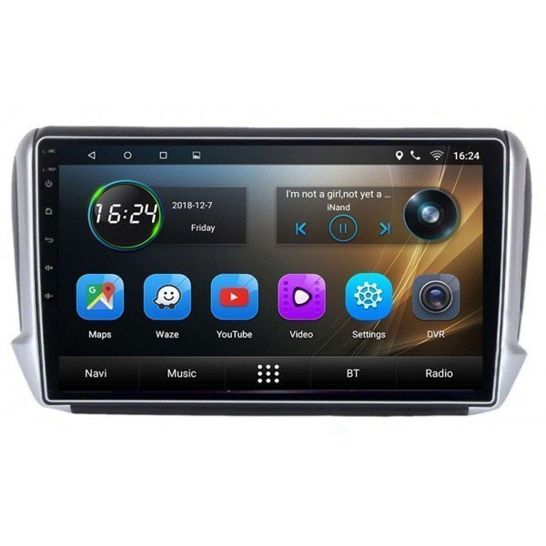 GPS Peugeot 2008 head unit