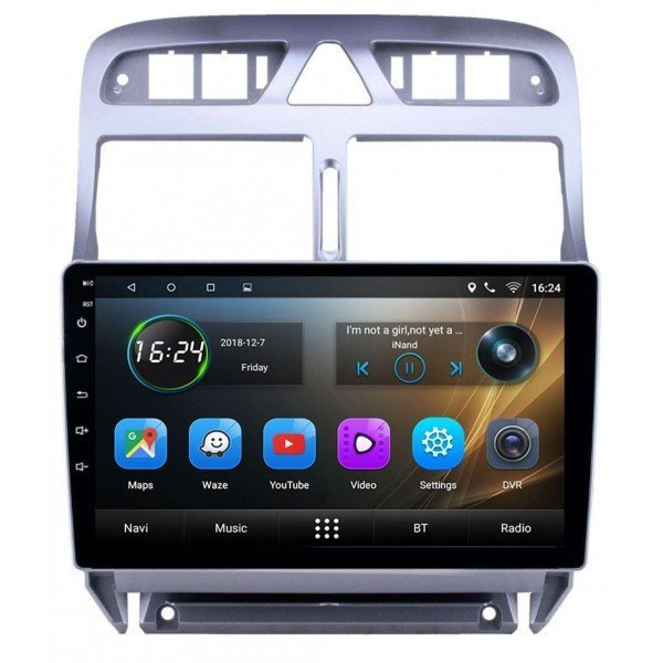 GPS Peugeot 307 head unit
