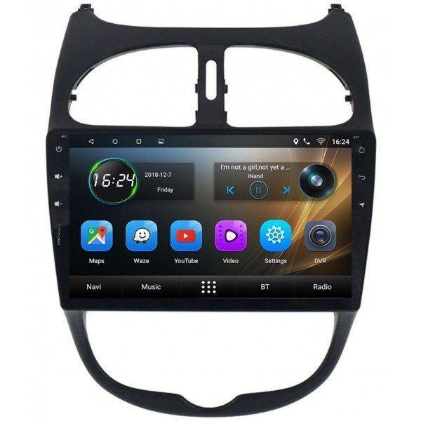 GPS Peugeot 206 head unit