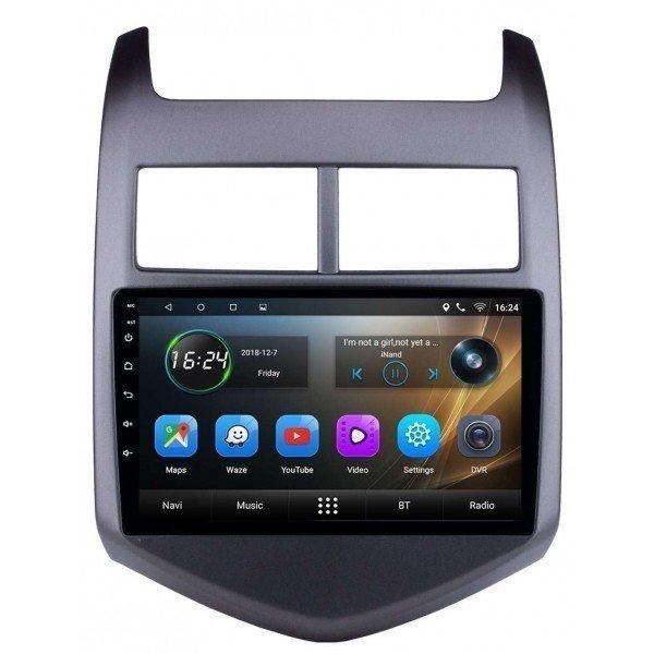 Radio navegador GPS Chevrolet Aveo pantalla 9 Android TR3408