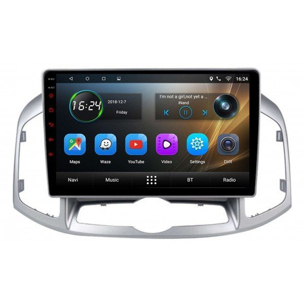GPS Chevrolet Captiva screen 10