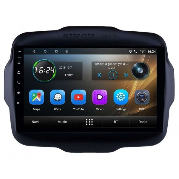 GPS Jeep Renegade screen 9