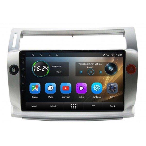 Radio GPS head unit Citroen C 4 screen 9 Android TR3425