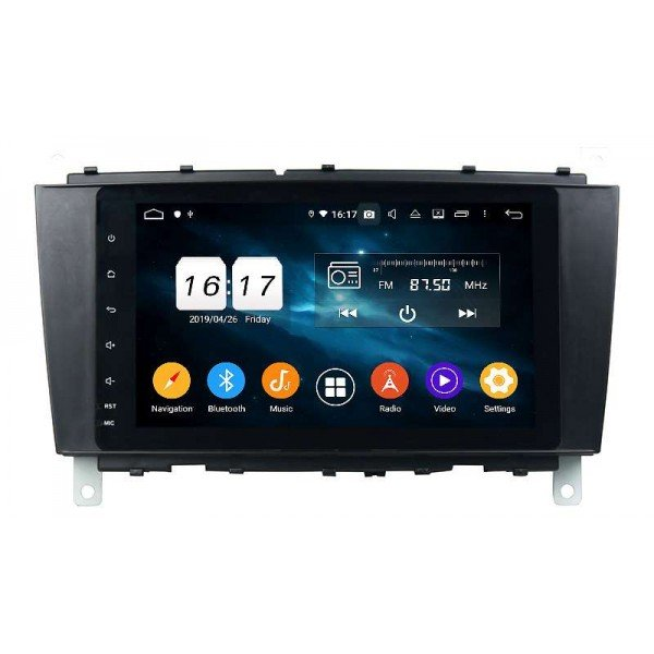 GPS Mercedes Benz C W203 head unit