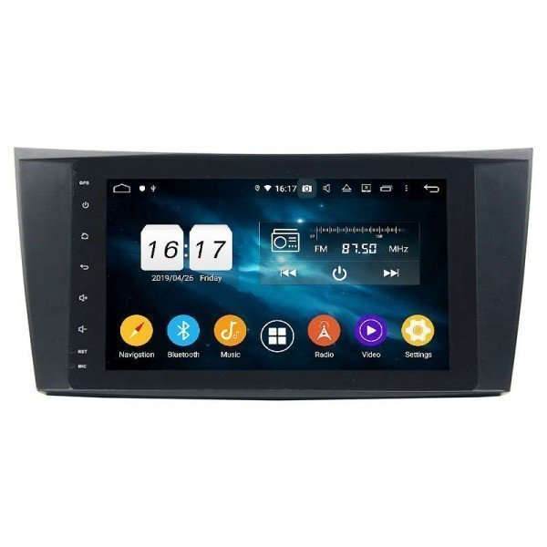GPS Mercedes Benz E W211 head unit