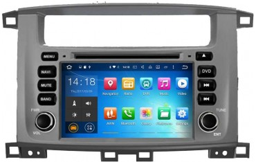 Radio navegador GPS LAND CRUISER HDJ 100 ANDROID TR1901