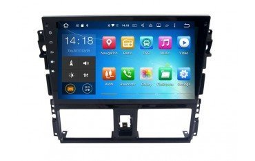 Radio monitor 10,1 inch GPS TOYOTA VIOS ANDROID TR1908