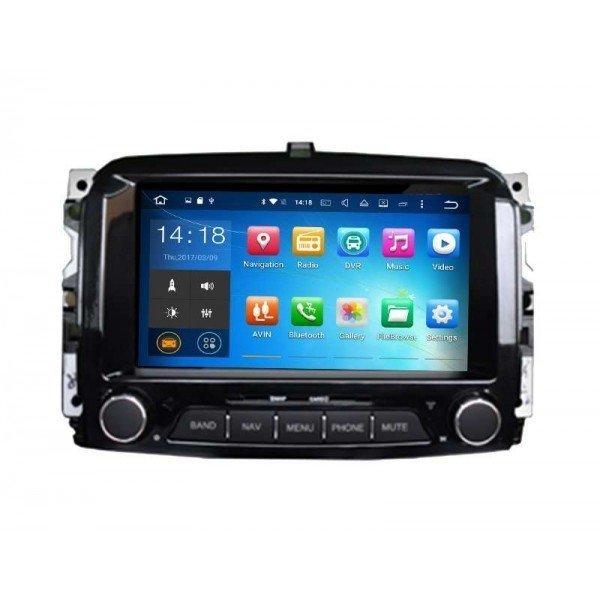 FIAT 500 screen