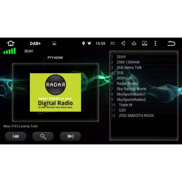 GPS Android Skoda Superb