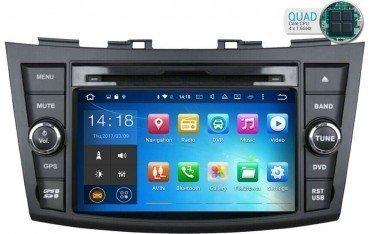 Radio navegador GPS Suzuki Swift Android 10 TR1767