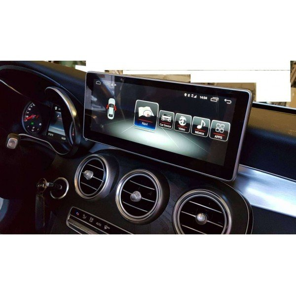 Monitor head unit 10,25 GPS 4G MERCEDES C class W205 GLC ANDROID Carplay androidauto android auto TR2928