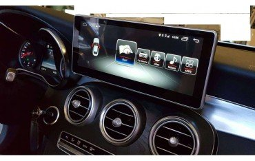 Monitor 10,25 GPS 4G MERCEDES CLASE C W205 / GLC ANDROID