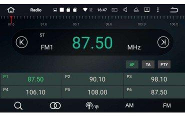 Radio navegador opel grandland