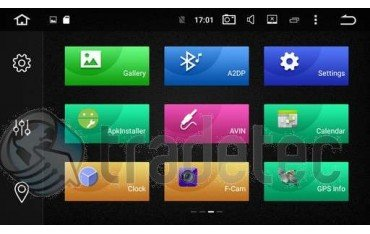 GPS Android 9,0 QUAD CORE Ford Focus TR2317