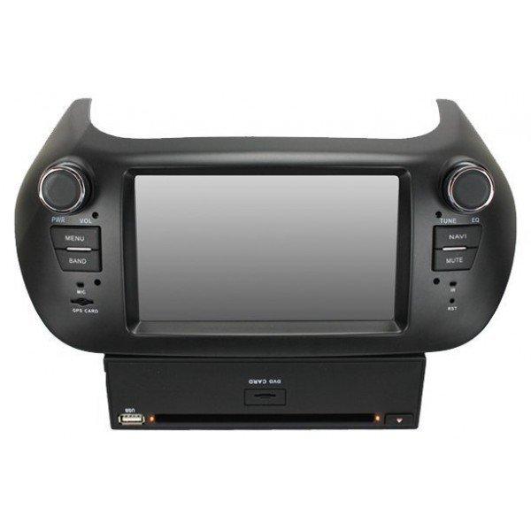Radio DVD GPS HD FIAT FIORINO / PEUGEOT BIPPER  ANDROID PURO REF: TR1911