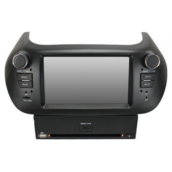 Radio DVD GPS HD FIAT FIORINO / PEUGEOT BIPPER PURE ANDROID REF: TR1911