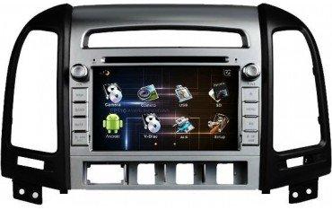 Radio DVD GPS ANDROID Hyundai Santa Fe REF: TR1579