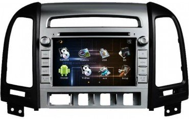 Radio DVD GPS Android Hyundai Santa Fe TR1579